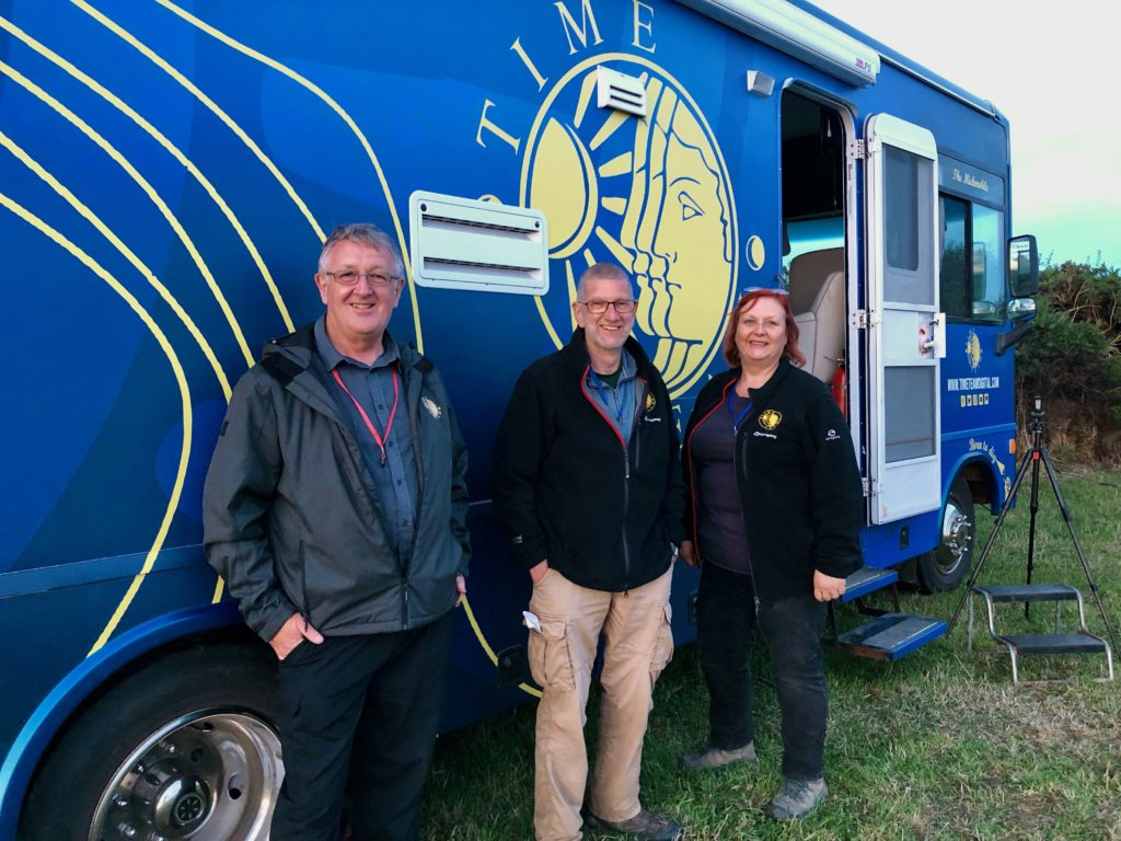 On site with Time Team